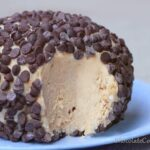 Peanut Butter Chocolate Chip Cheesecake Ball