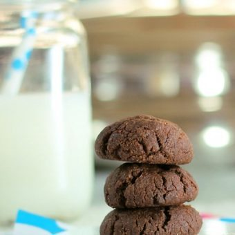 Double Chocolate Chip Brownie Cookies