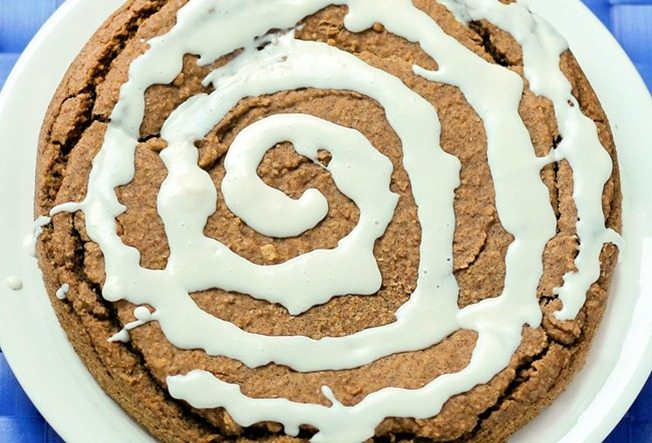 Deep Dish Gooey Cinnamon Roll Pie