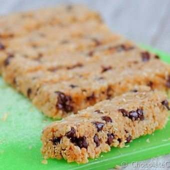 "Coconut Chocolate Chip ""Magic"" Granola Bars"