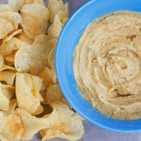 Cool Ranch Doritos Hummus