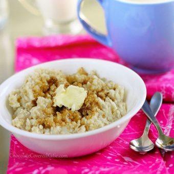 Crock Pot Oatmeal