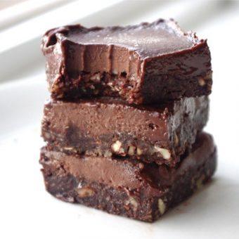 Healthy Eatmore Fudge Chocolate Bars