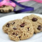 Healthy + Flourless BEST recipe you'll find for chewy homemade chocolate chip cookies - from @choccoveredkt... http://chocolatecoveredkatie.com/2011/08/30/flourless-chocolate-chip-cookies/
