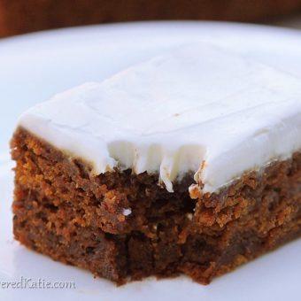 Healthy Gingerbread Recipe
