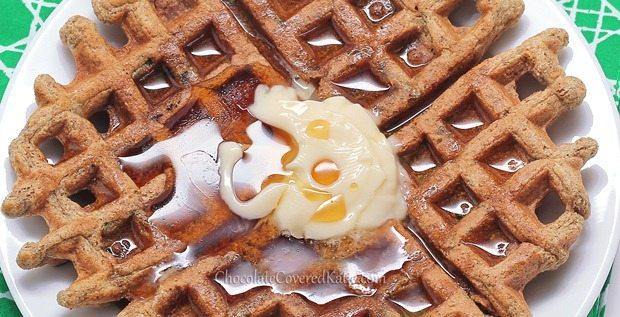 gluten free cinnamon sugar waffles