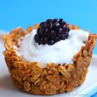 Customizable Breakfast Granola Cups