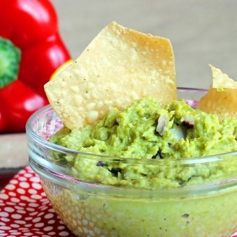 Avocado-Free Guacamole