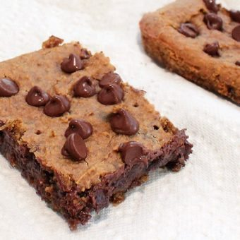 Gooey Chocolate-Chip Bars (for a good cause!)