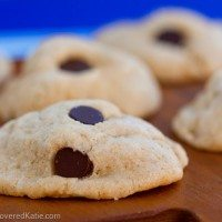 Chocolate Chip Cream Cheese Cookies