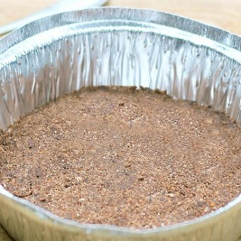 Healthy Chocolate Pie Crust