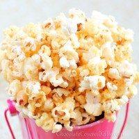 Healthy Caramel Popcorn