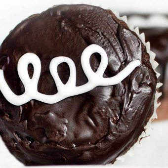 Healthy Hostess Cupcakes