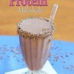 """Chocolate """"Protein"""" Milkshake"""