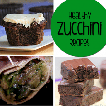 Healthy Zucchini Recipes – 15 easy and delicious ways to eat zucchini!