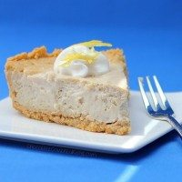 Lemon Cloud Cheesecake