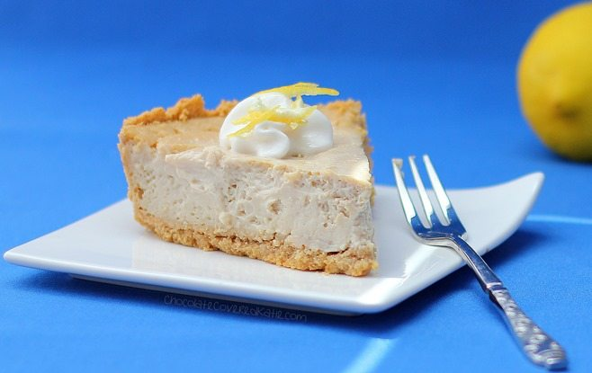 lemon cloud cheesecake