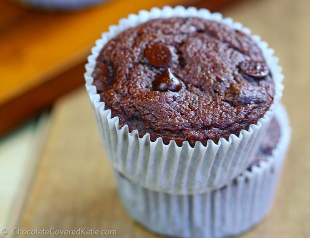 low fat chocolate muffins