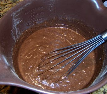 Chocolate Stud Muffins