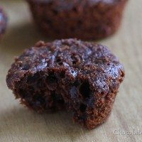 Skinny Chocolate Mini Muffins