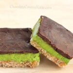 mint chocolate nanaimo bars