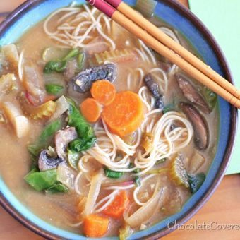 Hearty Vegetable Miso Soup Recipe