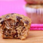 Chocolate Chip Banana Bread Mini Muffins