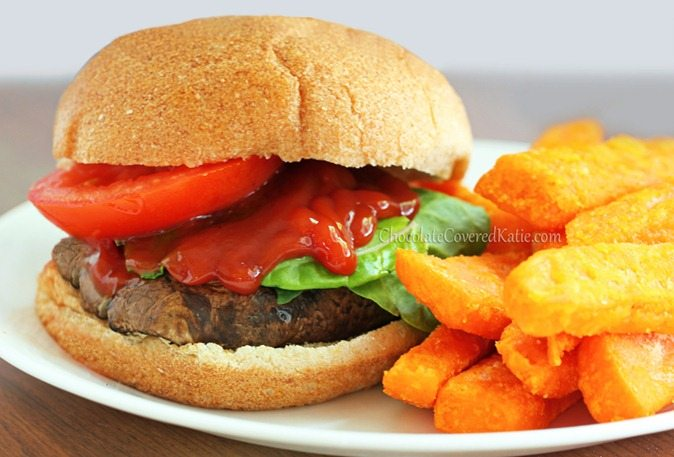 Portobello Mushroom Burgers - Meat Eater Approved!
