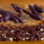 No-Bake Chocolate Peanut Butter Brownie Bars
