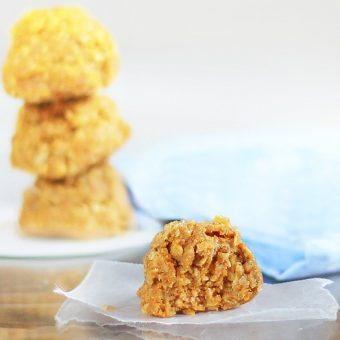 No-Bake Pumpkin Oatmeal Cookies