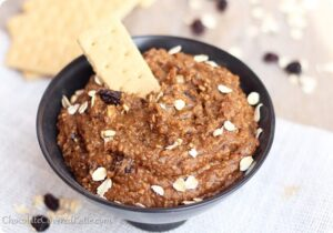 Oatmeal Cookie Dough Dip