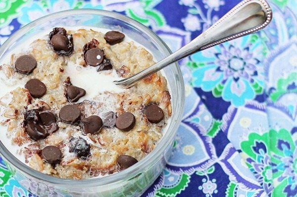 cookie dough oatmeal