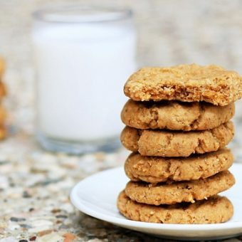Secret Vegan Peanut Butter Cookies