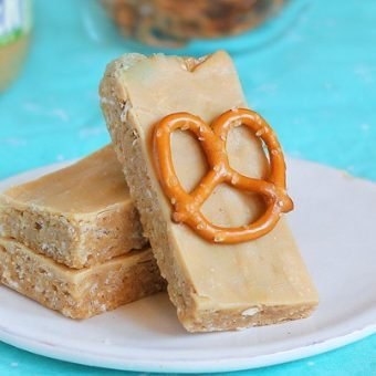 No-Bake Peanut Butter Pretzel Bars