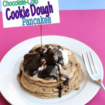 Chocolate Chip Cookie Dough Pancakes