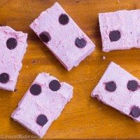 Pink Coconut Kiss Candy Bars