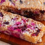 Low-Fat Chocolate Chip Raspberry Quick Bread