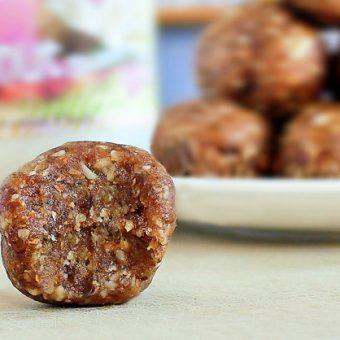 2 Ingredient Coconut Cookie Dough Balls!