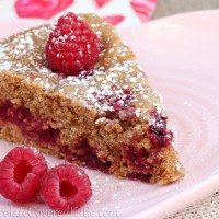 Raspberry Vanilla Coffee Cake
