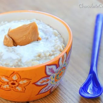 Peanut Butter Rice Pudding