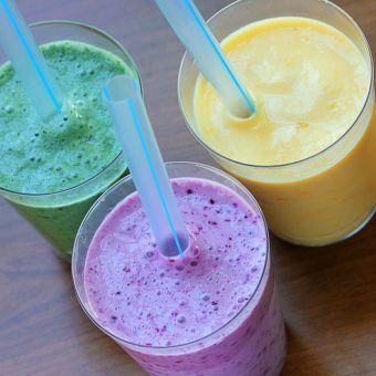 Fairytale Fruit & Yogurt Smoothies