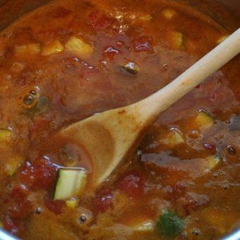 """Mexican Hat Dance"" Tortilla Soup"
