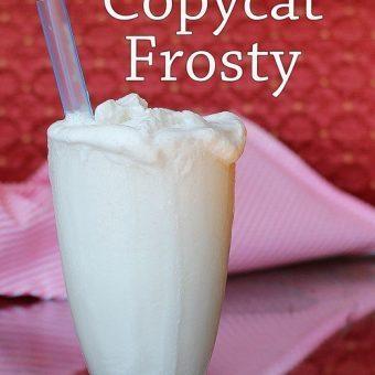 Healthier Wendy's Vanilla Frosty