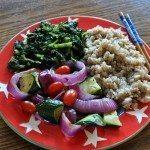 vegan kale